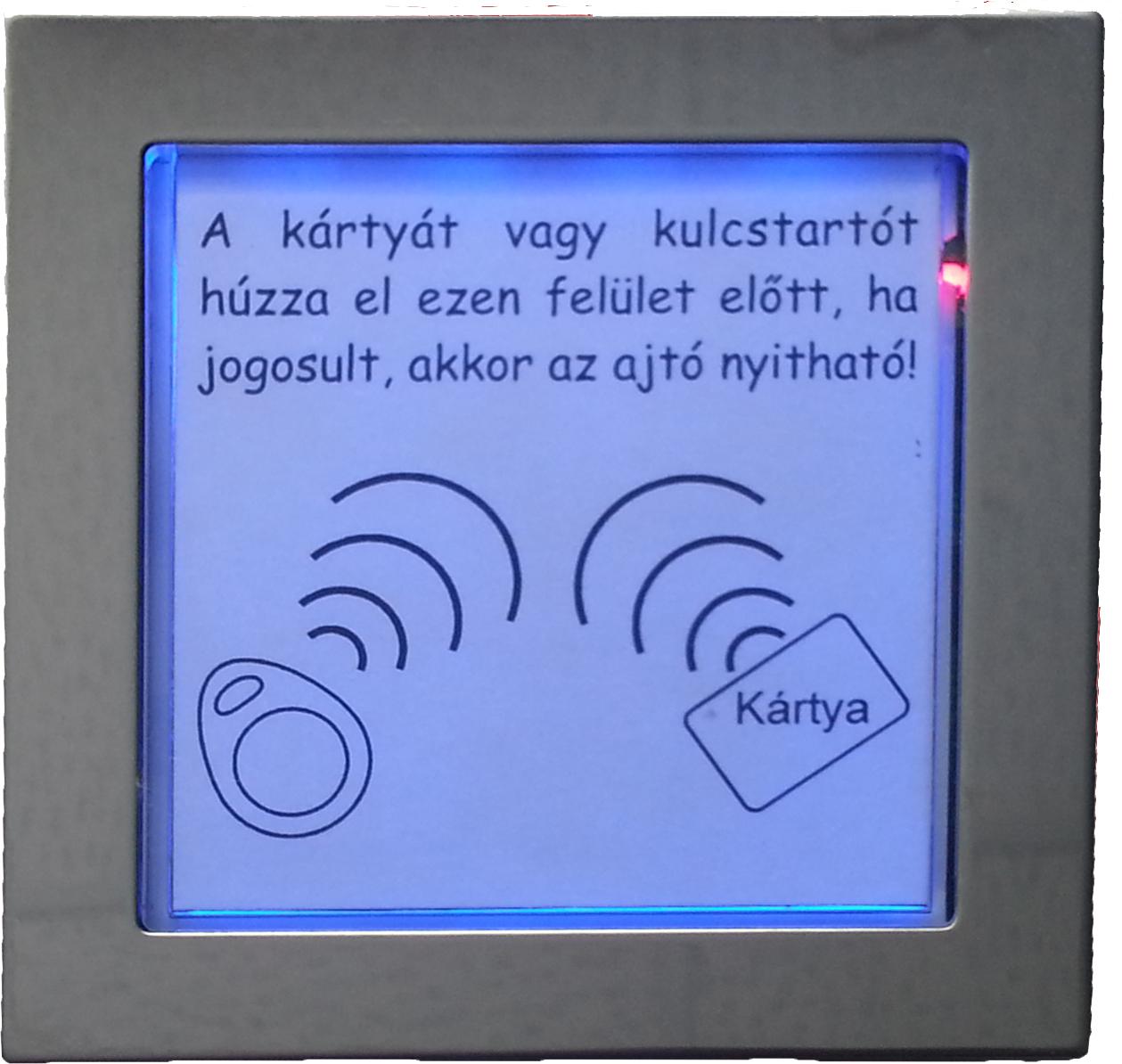 KARAT kaputelefon RFID modul 1+n MKT 4FN 231 25/K