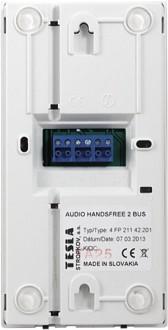 Audió HF BUS2 fehér